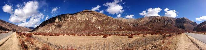 Tibet - panorama Royalty Free Stock Photos