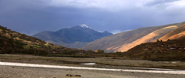 Tibet Plateau Stock Photography