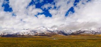 Tibet plateau Royalty Free Stock Photo