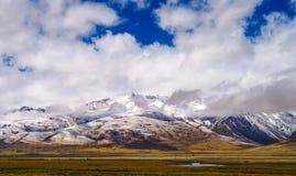 Tibet plateau Stock Photography