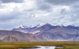 Tibet plateau Stock Photos