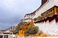 Tibet-potala Lhasa Stockbild
