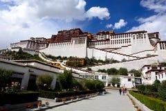 Tibet-potala Lhasa Lizenzfreies Stockfoto
