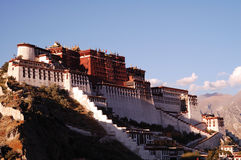 Tibet Potala Palace Stock Photo