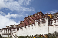 Tibet: potala palace Stock Photography