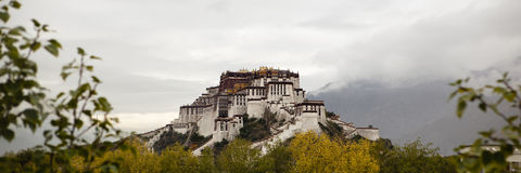Tibet: potala palace Stock Photo