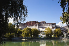 Tibet: potala palace Stock Photos