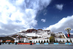 Tibet - Potala Palace Royalty Free Stock Photos