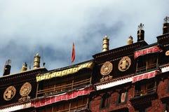Tibet Potala Palace detail Royalty Free Stock Images