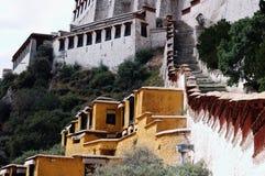 Tibet Potala Palace detail Royalty Free Stock Photography
