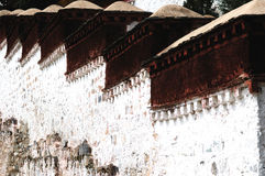 Tibet Potala Palace detail Stock Photo