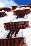 Tibet Potala Palace detail Royalty Free Stock Photos