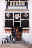 Tibet Potala Palace detail Stock Image