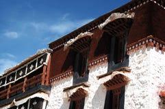 Tibet Potala Palace detail Stock Photography
