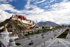 Tibet  Royalty Free Stock Photo
