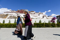 Tibet prayer Royalty Free Stock Photo