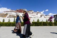 Tibet prayer Royalty Free Stock Photo