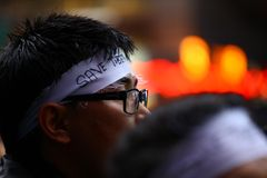 Save Tibet Headband Stock Images