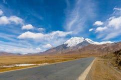 Tibet road. Travel Tibet China Royalty Free Stock Image