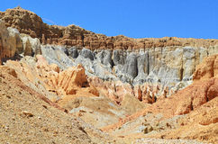 Tibet.Rocks and caves in the valley of the Garuda Royalty Free Stock Image