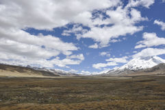 Tibet's natural scenery Stock Photos