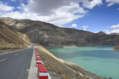 Tibet's natural scenery Royalty Free Stock Image