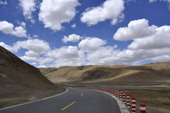 Tibet's natural scenery Stock Images