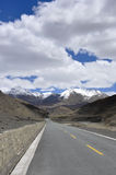 Tibet's natural scenery Stock Photography