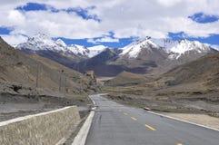 Tibet's natural scenery Royalty Free Stock Photos