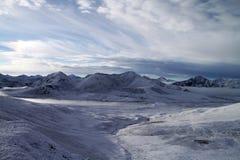 Tibet's snow mountains Royalty Free Stock Image