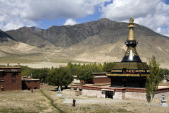 Tibet - Samye Monastery - Tsetang Royalty Free Stock Photography