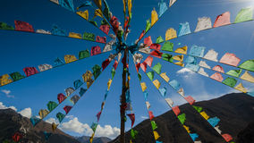 Tibet scenery Stock Photography