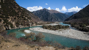 Tibet scenery Stock Images
