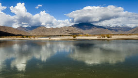 Tibet scenery Stock Photo