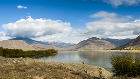 Tibet scenery Royalty Free Stock Photography