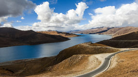 Tibet scenery Stock Photos