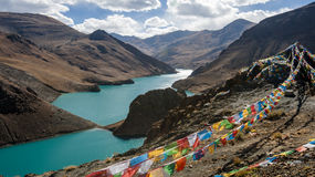 Tibet scenery Royalty Free Stock Image