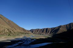 Tibet scenery Royalty Free Stock Images