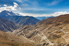 Tibet scenery seventy-two Abduction Royalty Free Stock Photos