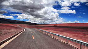 Tibet scenery Stock Image