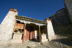 Tibet Shigatse Gyantse Stock Photos