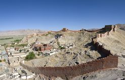 Tibet Shigatse Gyantse Stock Photography