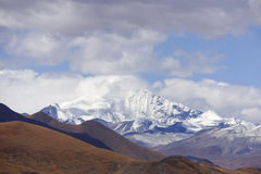 Tibet snow mountain Stock Images