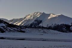 Tibet Snow mountain Stock Photography