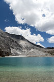 Tibet snow mountain with river Royalty Free Stock Photography