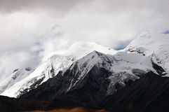 Tibet snow moutain Royalty Free Stock Photo
