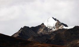 Tibet snow moutain Royalty Free Stock Photo