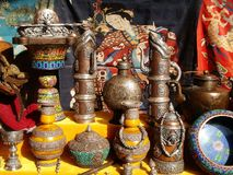 Tibet. Some tibet arts and crafts royalty free stock photo