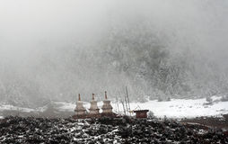 Tibet stupa Royalty Free Stock Photo