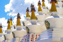 Tibet stupa Arkivbild